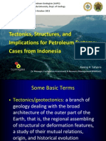 Tectonics Structures Petroleum Systems of Indonesia Ugm Satyana 2011