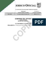 Cxxxii 73 190607F ANEXO Reglamento de Transito