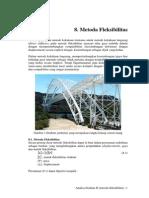 Bab 8. Metoda Fleksibilitas