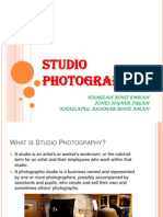 studio photography presentation