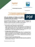 2014.11.03 CP_Signature du partenariat avec TLF