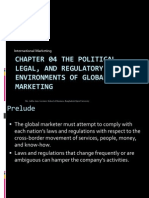 Chapter 04 the Political, Legal, And Regulatory Environments of Global Marketing
