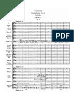 Tchaikovsky - Symphony No 6 Op 74 - First movement