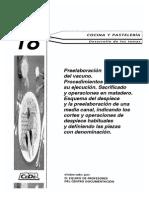 Preelaboracion y Cortes (en España) de La Carne de Vacuno