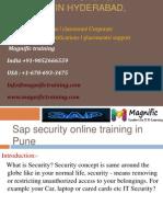 SAP SECURITY ONLINE TRAINING in hyderabad,kolkata.pptx