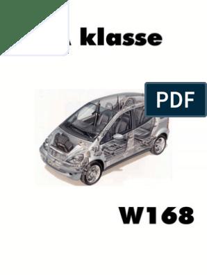 [SCHEMATICS_4ER]  A Klasse W168 Repair Instruction and wiring diagrams   Mercedes Benz A160 Wiring Diagram      Scribd