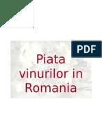 Vinurilor in Romania