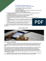 Material :O uso do celular e do Facebook na Escola como ferramenta pedagogica