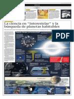 La Ciencia en Interestelar y La Búsqueda de Planetas Habitables