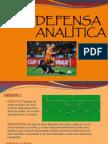 Defensa Analítica Futbol
