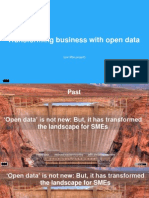 Transform your business with open data- Tom Wainright (University of Southampton)