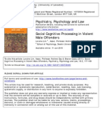 1. Lim, Day, Casey - Social Cognitive Processing in Violent Male Offenders
