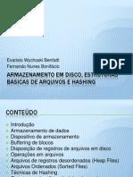 BD_Organização de Arquivos e Métodos de Acesso