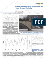 YSI Multiparameter Instruments Assist in Storm Water and Combined Sewer Overflow Monitoring