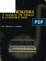 Music Synthesizers - A Manual of Design and Construction