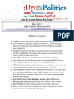Wake Up to Politics - November 6, 2014