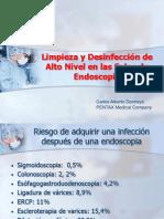 Limpieza y Desinfección de Alto Nivel en Las Salas de Endoscopia