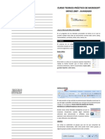 Curso Teorico Prractico de Microsoft Office Word 2007 - Avanzado