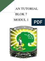 Laporan Tutorial Modul 1 Blok 7