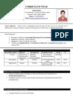 Ankur Kumar Resume