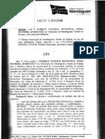 Lei nº 1325/08 - Criação do Parque Nossa Senhora Aparecida