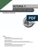 historia y ciencias sociales 4º medio docente