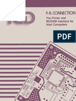 P R Connection Owners Manual