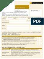 Agent Checklist