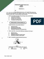 Final Exam 2014 - Tahun 4 - Sains
