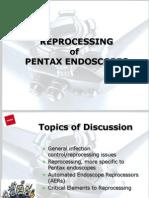Reprocessing of Pentax Endoscopes
