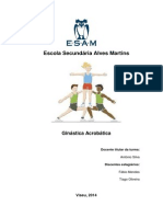 Ginástica Acrobática - Documento de Apoio