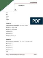 Matemática - Química Geral