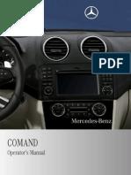 Mercedes Gl Slk Cls Slr g Command Manual