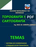 COORDEANADAS UTM-INGENIERIA METLAURGIA UNCP