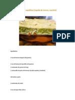Tarta de Zapallitos Recetas veganas