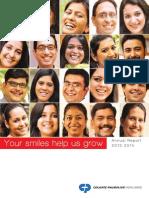 project annual report colgate-2013-14(1)