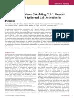 The Journal of Investigative Dermatology Volume issue 2012 [doi 10.1038%2Fjid.2012.418] Ferran, Marta; Galván, Ana B; Rincón, Catalina; Romeu, Ester R -- Streptococcus Induces Circulating CLA+ Memory T-Cell-Dependent Epider