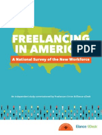 Freelancing in America the report