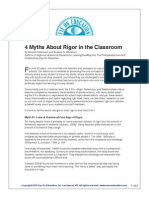m1-slide 21 4 myths of rigor