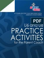 US Youth Soccer U6-U8 Practice Activities