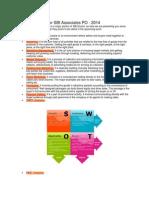 Marketing Notes for SBI Associates PO