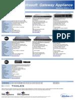 Winfrasoft Appliance Hardware Matrix 1.5