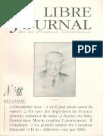 Libre Journal de la France Courtoise N°066