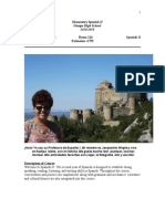 spanish ii syllabus 2014-2015