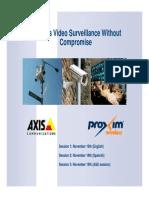 Axis Proxim Security