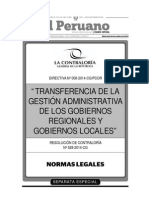 Directiva N_008_2014_CG_PCOR