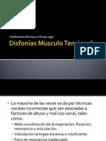 Disfonías Musculo Tensionales
