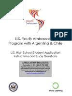 2014-USYA-StudentApplicationInstructionsandEssayQuestions