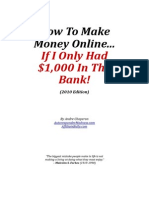 Andre Chaperon - How To Make Money Online If I Only Had $1,000 In The Bank (2010)