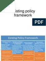Existing Policy Framework